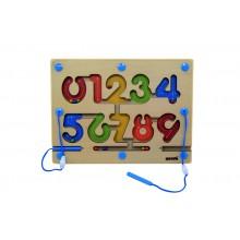 Magnetic Maze- Number