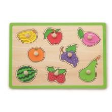 Flat Puzzle - Fruit