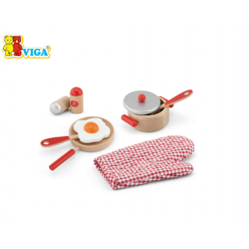 VIGA Cooking Tools Set (Red)
