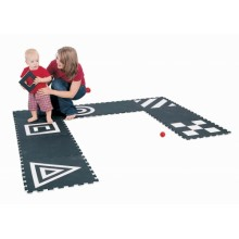 WePlay 3D Creative Mat – Black & White