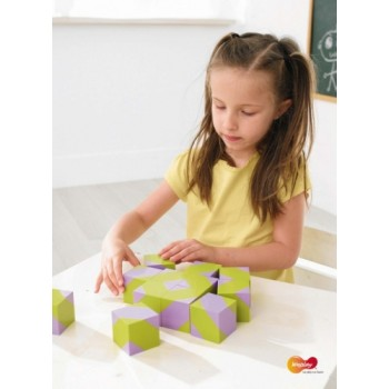 WePlay Art Blocks – Forest (16 pcs)
