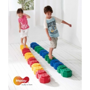 WePlay Octagon Creative Blocks - 12 pcs