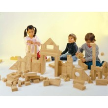 WePlay Softwood Blocks (4cm) - 152 pcs