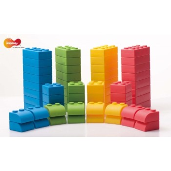 WePlay Soft Blocks - 64 pcs