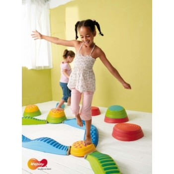 WePlay Wavy Tactile Path Blue