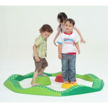 WePlay Wavy Tactile Path Green