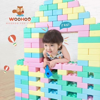 Woohoo (Taiwan) Fantas Soft Blocks (40pcs)