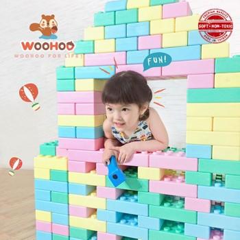 Woohoo (Taiwan) Fantas Soft Blocks (40pcs)