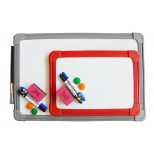Plastic Frame Magnetic Writing Board (21 x 30cm)
