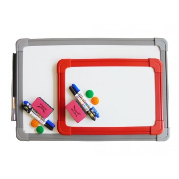 Plastic Frame Magnetic Writing Board (30 x 45cm)