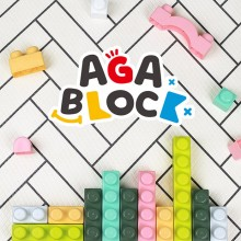 Haenim Toy Aga Block Basic 86Pcs