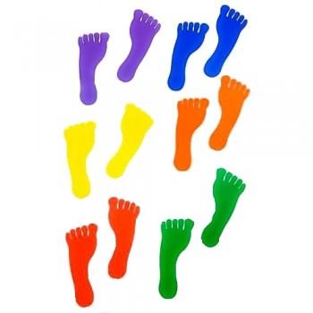 Foot Prints Floor Marker (Set of 12pcs)