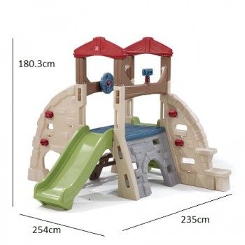 STEP 2 Alpine Ridge Climber and Slide™