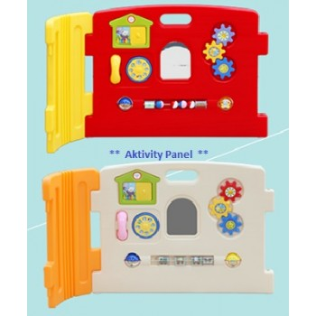 Haenim (Korea) Baby Play Yard Activity Panel (Red)