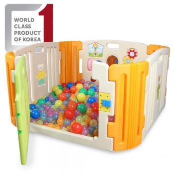 Haenim Baby Play yard (4 + 4 panel) (Beige)