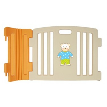Haenim Baby Play pen Plain Panel-Beige