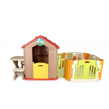 Haenim My First Play House + Play yard
